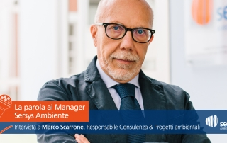 Manager Sersys Ambiente Marco Scarrone